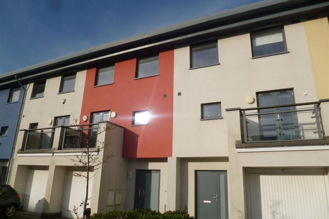 Thumbnail Town house to rent in Maritime Quarter, Swansea