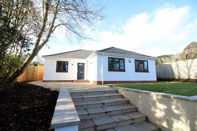 Thumbnail Detached bungalow for sale in Burbidge Close, Lytchett Matravers, Poole