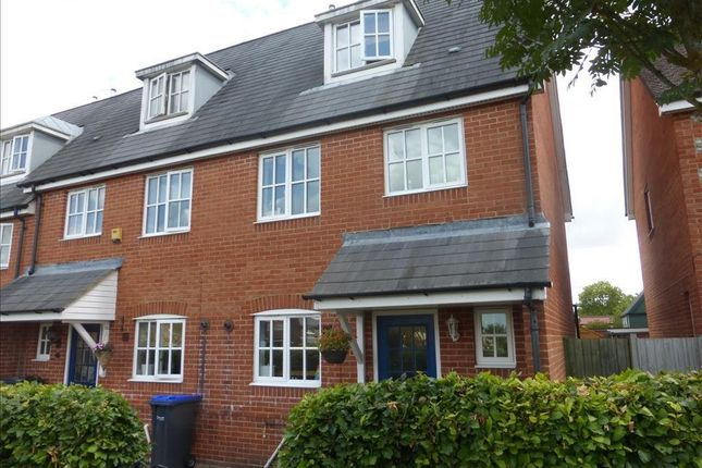 3 bed terraced house to rent in Carpenter Drive, Amesbury, Salisbury SP4