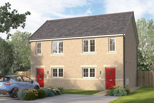 "Thumbnail Terraced house for sale in ""The Bambridge"" at Browney Lane, Browney, Durham"