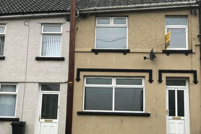 Thumbnail Terraced house to rent in Diana Street, Troedyrhiw, Merthyr Tydfil