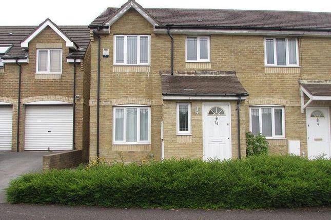 Thumbnail Semi-detached house to rent in Mackworth Street, Bridgend