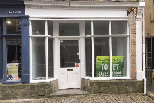 Thumbnail Retail premises to let in 14B, New Bridge Street, Truro, Cornwall
