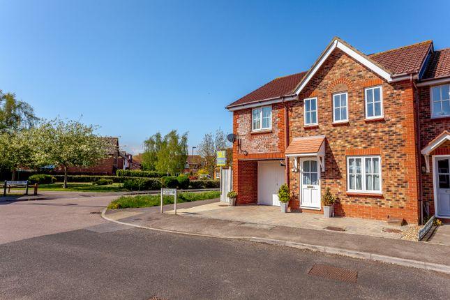 Thumbnail End terrace house for sale in Snowdrop Close, Littlehampton