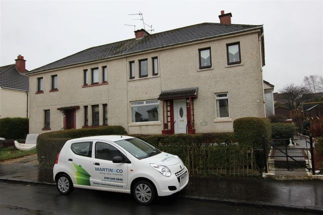 Thumbnail Flat to rent in Arden Avenue, Thornliebank, Glasgow