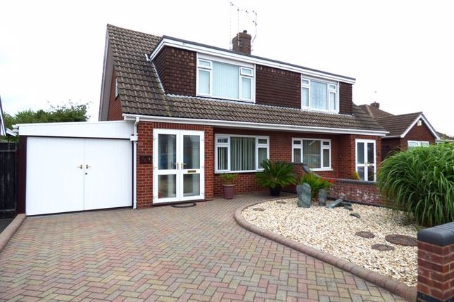 Thumbnail Semi-detached house for sale in Manor Park, Longlevens, Gloucester