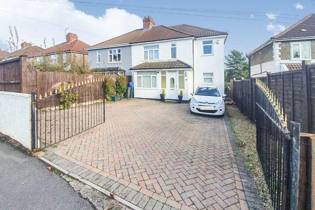 Thumbnail Semi-detached house for sale in Grange Road, Bishopsworth, Bristol