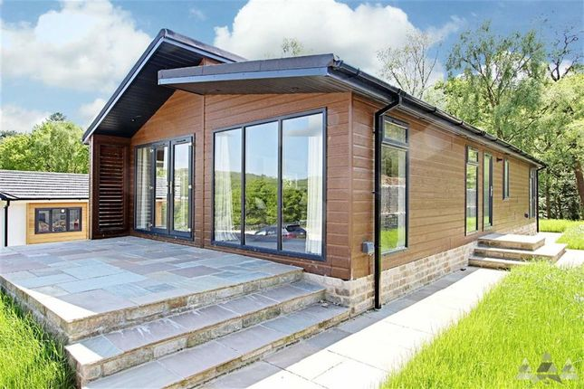 Thumbnail Mobile/park home for sale in Haytop Country Park, Alderwasley Park, Matlock, Derbyshire