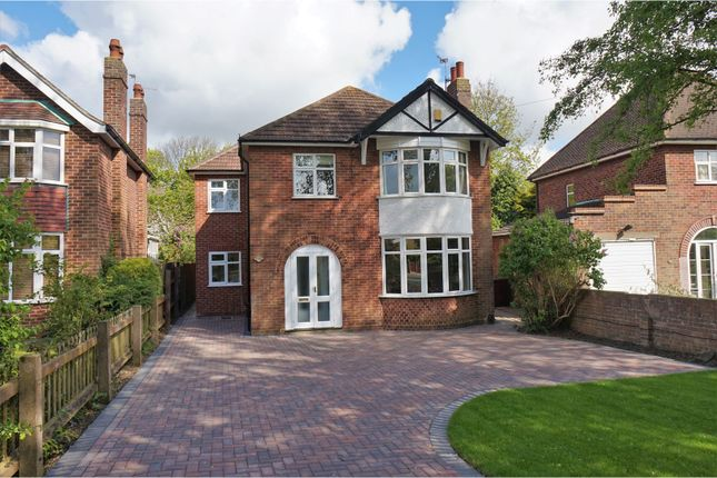 Thumbnail Detached house for sale in Yarborough Crescent, Lincoln