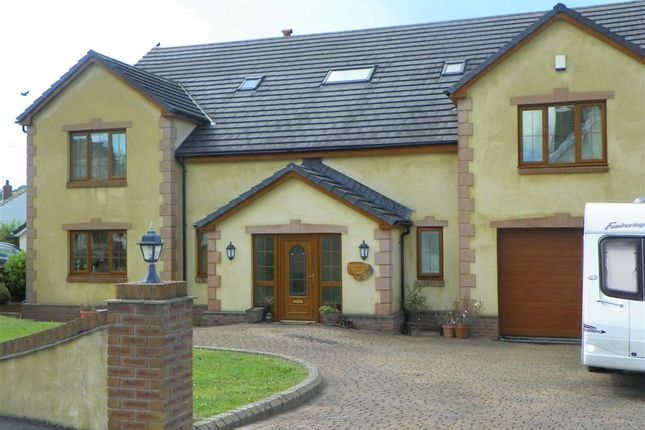 Thumbnail Detached house for sale in Clos Yr Afon, Kidwelly