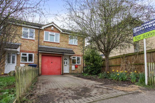 Thumbnail End terrace house for sale in Linden Close, Cambridge