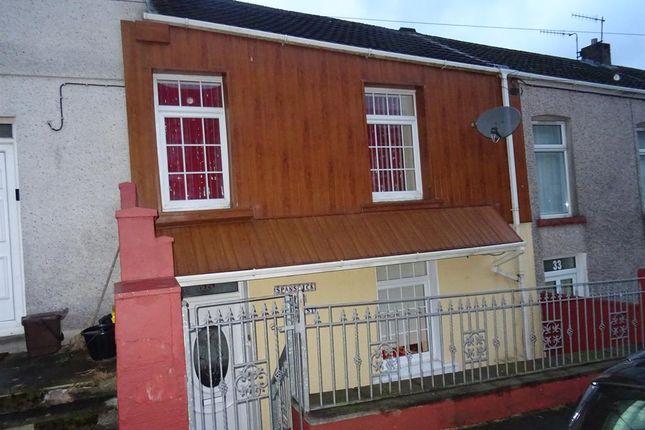 Thumbnail Terraced house for sale in John Street, Nant-Y-Moel