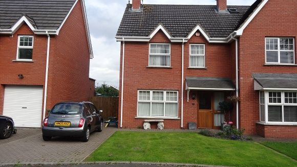 Thumbnail Semi-detached house to rent in Chestnut Hill, Lisburn