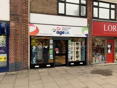 Thumbnail Retail premises to let in 257 Uppingham Road, Leicester, Leicestershire