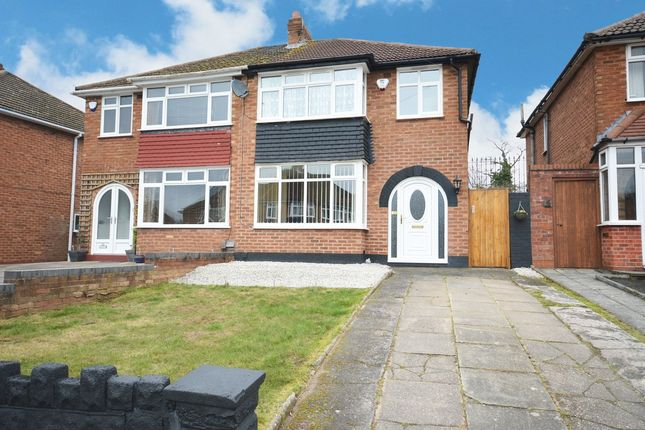 Thumbnail Semi-detached house for sale in Velsheda Road, Shirley, Solihull