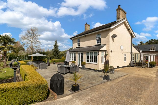 Thumbnail Detached house for sale in St. Neots Road, Caxton, Cambridge