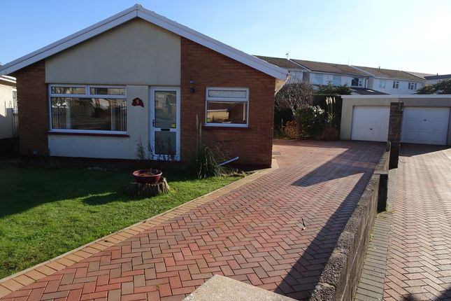 Thumbnail Detached bungalow for sale in Skokholm Close, Nottage, Porthcawl