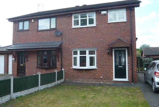 Thumbnail Semi-detached house to rent in Coleridge Way, Crewe, Cheshire