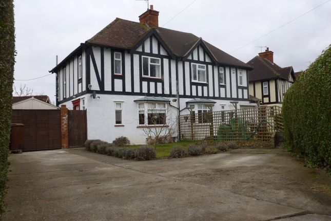 Thumbnail Semi-detached house to rent in Woolgrove Road, Hitchin, Hertfordshire