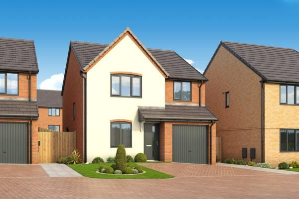 "Thumbnail Property for sale in ""The Pine At Roman Fields "" at Beadle Way, Peterborough"