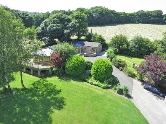 Thumbnail Bungalow for sale in Dark Lane, Ashover Hay, Ashover, Derbyshire
