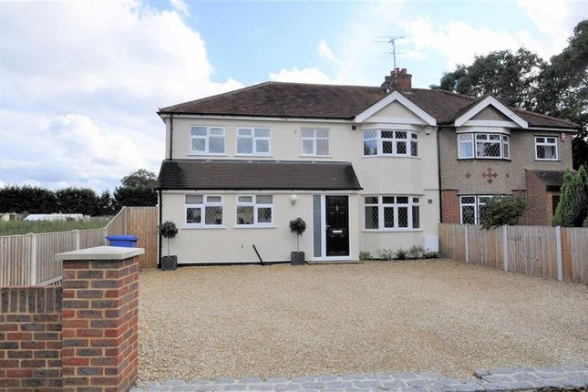 Thumbnail Semi-detached house for sale in The Drive, Wraysbury, Berkshire