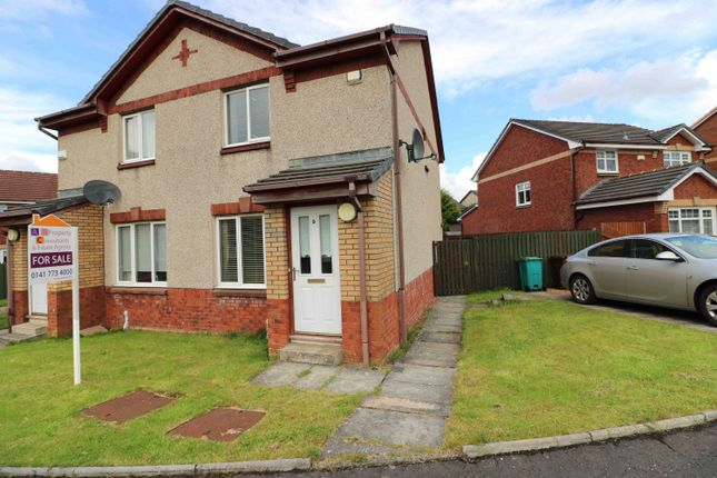 Thumbnail Semi-detached house for sale in Klondyke Court, New Stevenston