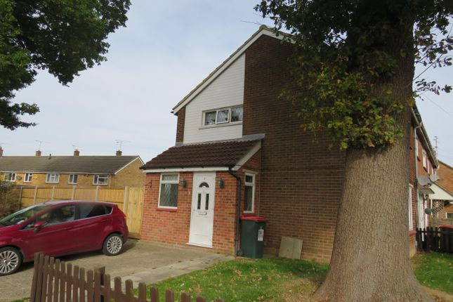 Thumbnail End terrace house to rent in Slinfold Walk, Ifield, Crawley