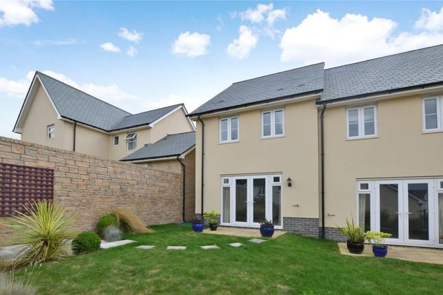 Thumbnail Semi-detached house for sale in Hockmore Drive, Newton Abbot, Devon