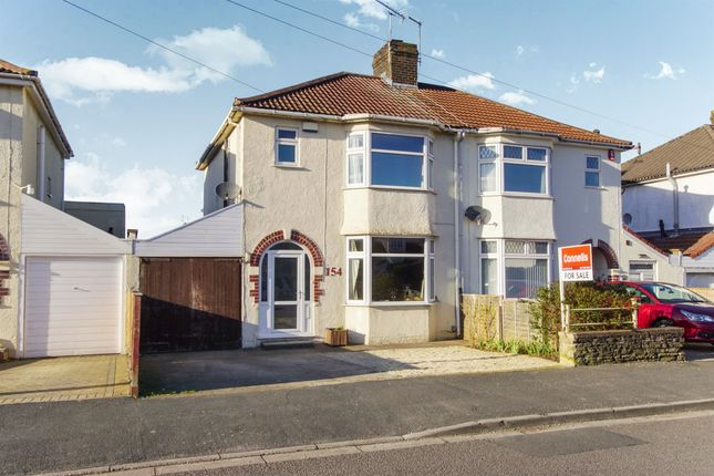 Semi-detached house for sale in Overndale Road, Downend, Bristol
