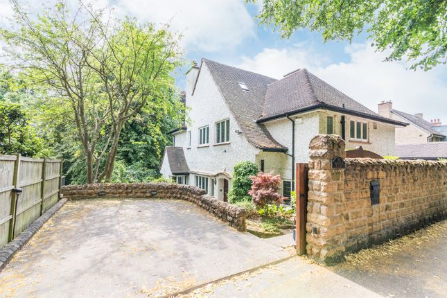 Thumbnail Detached house for sale in Warwick Road, Mapperley Park