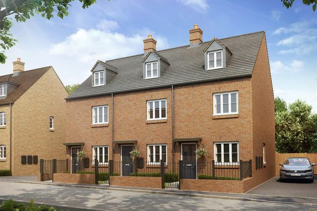 """3 bed town house for sale in """"The Charlton"""" at Heathencote, Towcester NN12"""