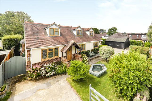 Thumbnail Detached house for sale in Brickfields, Chavey Down Road, Winkfield Row, Bracknell