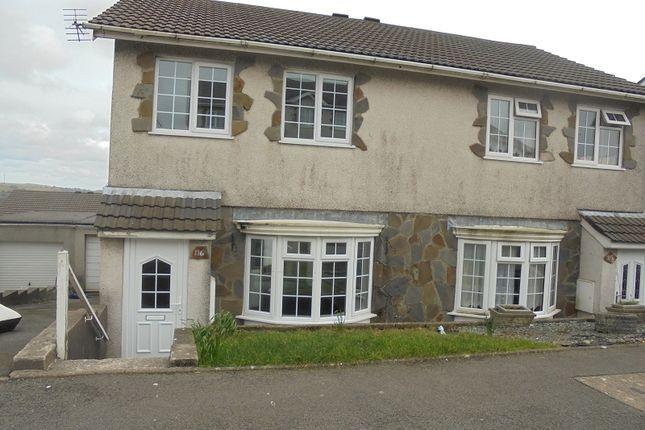 Thumbnail Property to rent in Ty Gwyn Drive, Brackla, Bridgend, Bridgend.