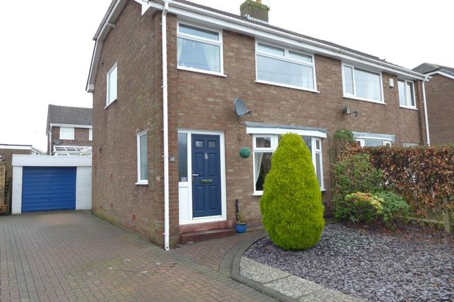 Thumbnail Semi-detached house for sale in Beech Drive, Newton, Preston