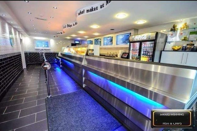 Thumbnail Restaurant/cafe for sale in High Street, Tonyrefail, Porth