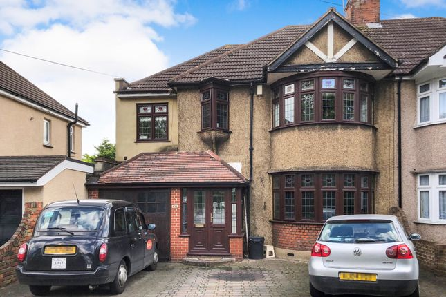 Thumbnail Semi-detached house for sale in Upper Brentwood Road, Gidea Park, Romford