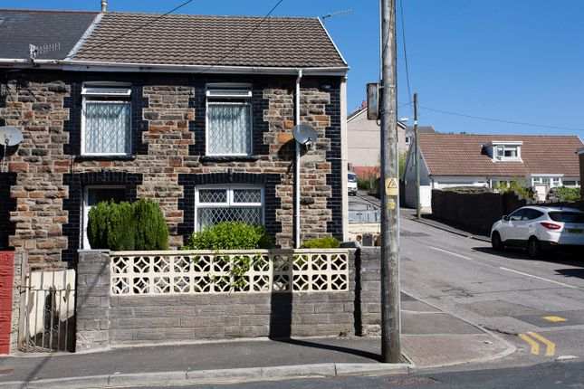 Thumbnail End terrace house for sale in Park Road, Treorchy