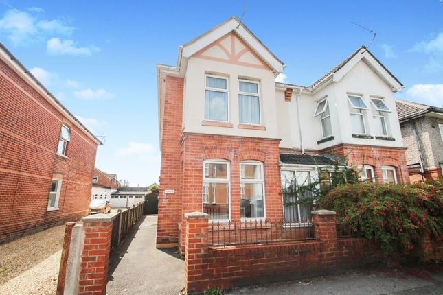 Thumbnail Semi-detached house to rent in Hankinson Road, Winton, Bournemouth