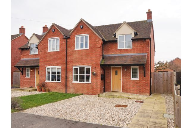 Thumbnail Semi-detached house for sale in St. Aidans Row, Aston Somerville, Broadway
