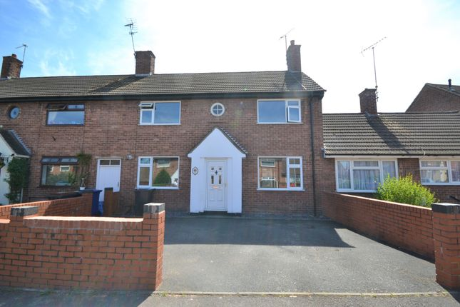 Thumbnail Town house for sale in Birch Dale, Madeley, Crewe