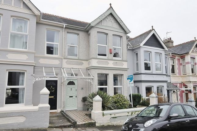 Thumbnail Terraced house for sale in Pounds Park Road, Plymouth