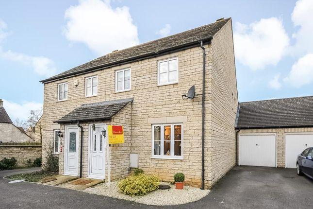Thumbnail Semi-detached house to rent in Woodrush Gardens, Carterton