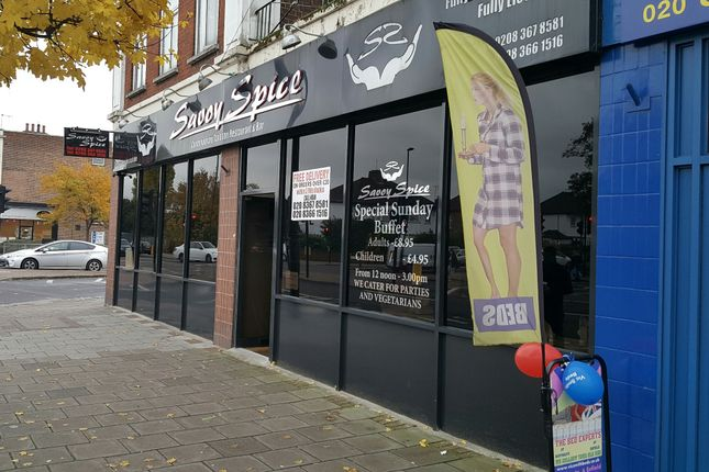 Thumbnail Restaurant/cafe for sale in Savoy Parade, Southbury Road, Enfield