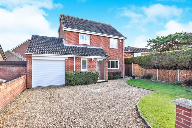 Thumbnail Detached house for sale in Hewitts Lane, Wymondham