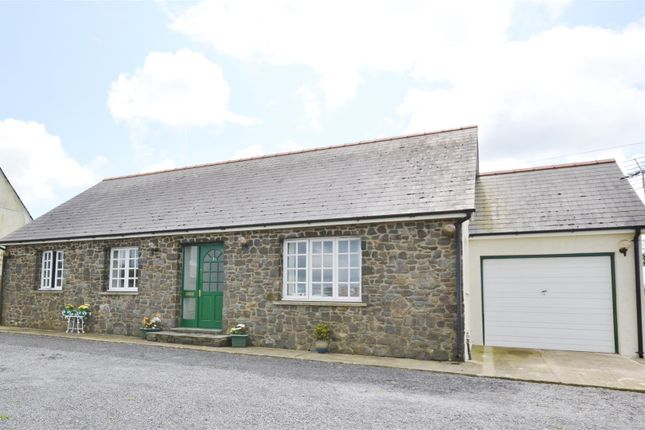 Thumbnail Detached bungalow for sale in Abereiddy Road, Croesgoch, Haverfordwest