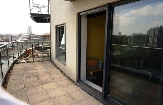 Thumbnail Flat to rent in Skyline, St Peter's St, Leeds