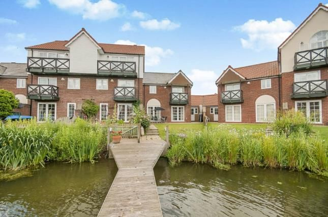 Thumbnail End terrace house for sale in Marine Approach, Burton Waters, Lincoln