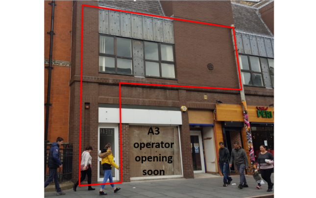 Office to let in First Floor, 17 Granby Street, Granby Street, Leicester