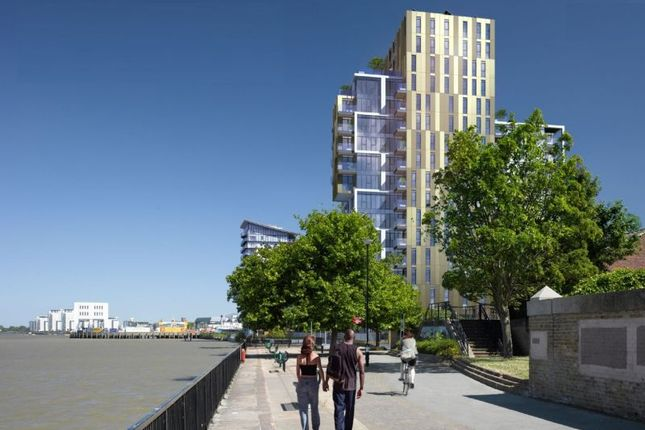 Thumbnail Flat for sale in King Henry's Dock, Woolwich